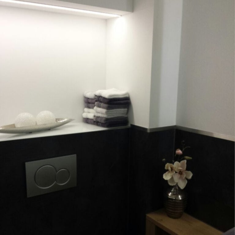 Bassler Gäste-WC quadratisch